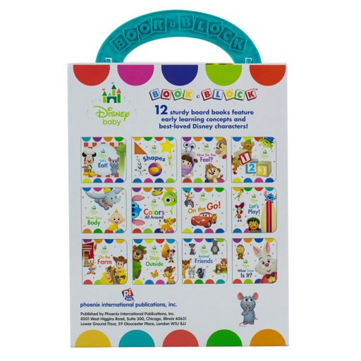 Disney's My First Library Baby Book Set