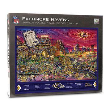 Baltimore Ravens Find Joe Journeyman Search Puzzle