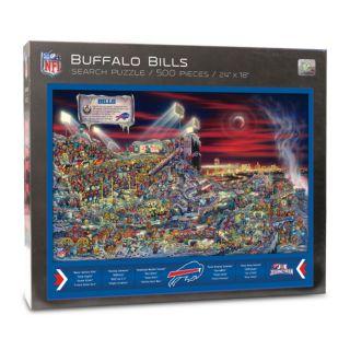 Buffalo Bills Find Joe Journeyman Search Puzzle
