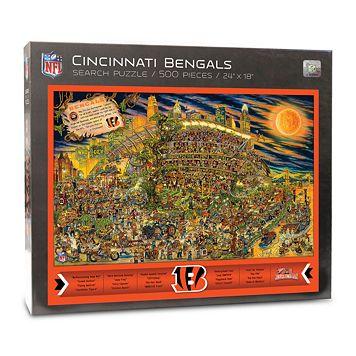 Cincinnati Bengals Find Joe Journeyman Search Puzzle