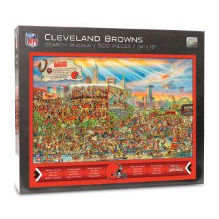 Cleveland Browns Find Joe Journeyman Search Puzzle