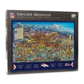 Denver Broncos Find Joe Journeyman Search Puzzle