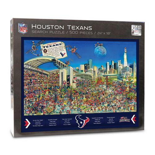 Houston Texans Find Joe Journeyman Search Puzzle