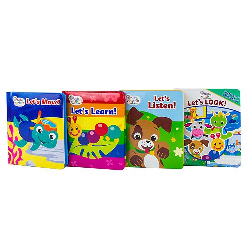 Little My First Look And Find Baby Einstein 4-pc. Book Set by PI Kids