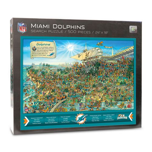 Miami Dolphins Find Joe Journeyman Search Puzzle