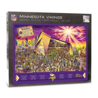 Minnesota Vikings Find Joe Journeyman Search Puzzle