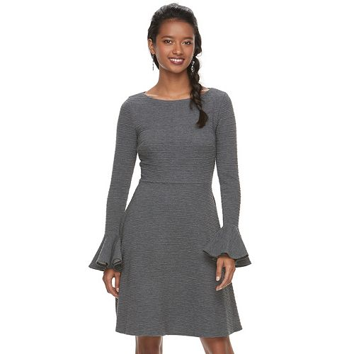 Women's Suite 7 Bell Sleeve Dress