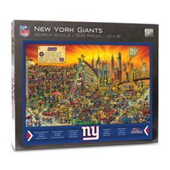 New York Giants Find Joe Journeyman Search Puzzle