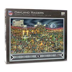 Oakland Raiders Find Joe Journeyman Search Puzzle