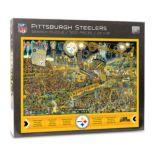 Pittsburgh Steelers Find Joe Journeyman Search Puzzle