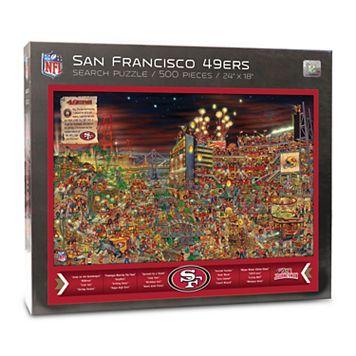 San Francisco 49ers Find Joe Journeyman Search Puzzle