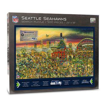 Seattle Seahawks Find Joe Journeyman Search Puzzle