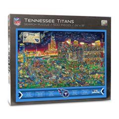 Tennessee Titans Find Joe Journeyman Search Puzzle