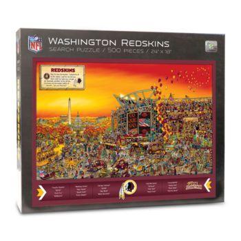 Washington Redskins Find Joe Journeyman Search Puzzle