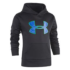 Boys 4-7 Under Armour Abstract Logo Pullover Hoodie