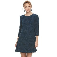 Women's Suite 7 Patterned Shift Dress