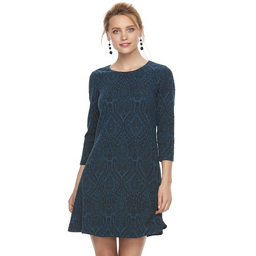 Women's Suite 7 Patterned Shift Dress