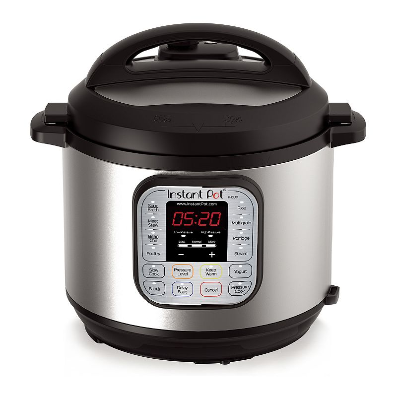 Instant Pot Duo60 7-in-1 Programmable Pressure Cooker, Multicolor