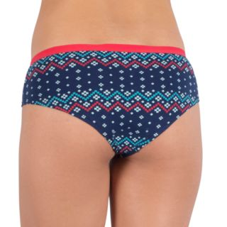 Junior's Lemon & Bloom Hipster Panty Set