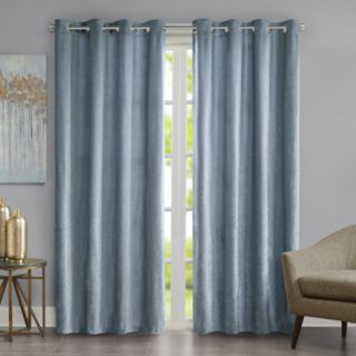 Madison Park 1-Panel Chenille Velvet Window Curtain