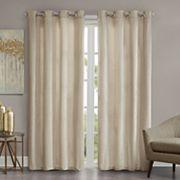 Madison Park Chenille Velvet Window Curtain