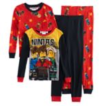 Boys 4-10 LEGO Ninjago 4 pc Pajama Set