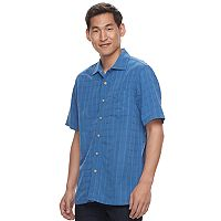 Men's Batik Bay Regular-Fit Soft-Touch Rayon-Blend Button-Down Shirt