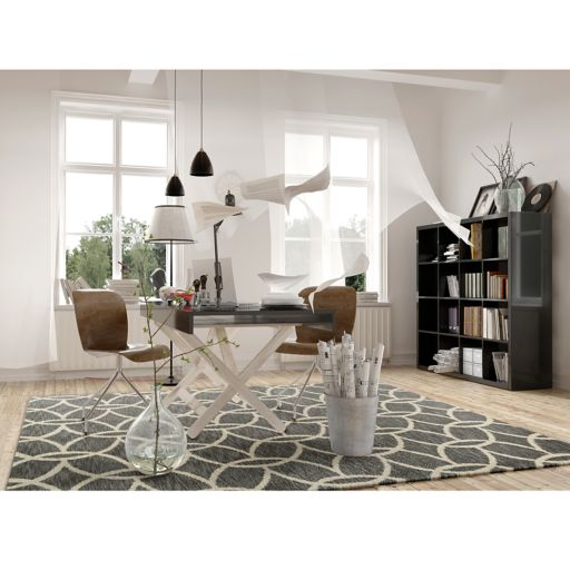 KAS Rugs Mission Illusions Geometric Shag Rug
