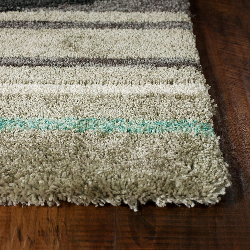 KAS Rugs Mission Horizon Abstract Shag Rug