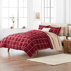 SONOMA Goods for Life™ Roland Woven Plaid Duvet Cover Set