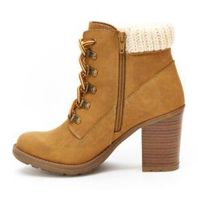 Unionbay Hayden Women's High Heel Ankle Boots