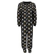 Baby Pittsburgh Steelers One-Piece Fleece Pajamas