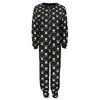 Baby Pittsburgh Steelers One-Piece Fleece Pajamas