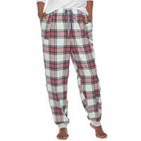 Plus Size SONOMA Goods for Life™ Flannel Jogger Pant