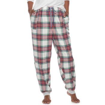 Plus Size SONOMA Goods for Life? Flannel Jogger Pant