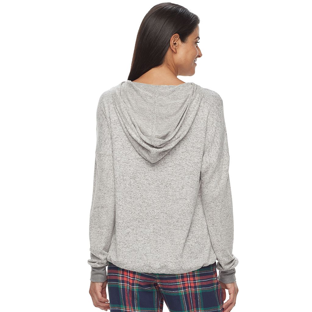 Women's SONOMA Goods for Life™ Snit Banded Hoodie