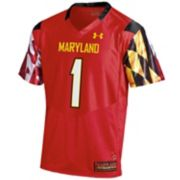 Men's Under Armour Maryland Terrapins Replica Football Jersey