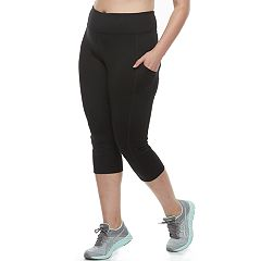 Plus Size Tek Gear® Performance Side-Pocket Capris