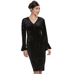 Women's Suite 7 Velvet Sheath Dress