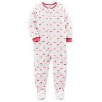 Baby Girl Carter's Fleece Sleep & Play
