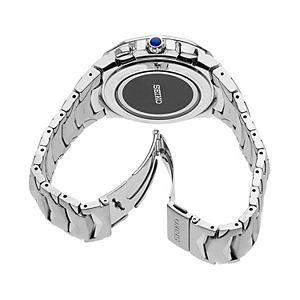 Seiko Men's Coutura Stainless Steel Radio Sync Solar Watch  - SSG019