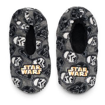 Boys 4-20 Star Wars Fuzzy Slippers