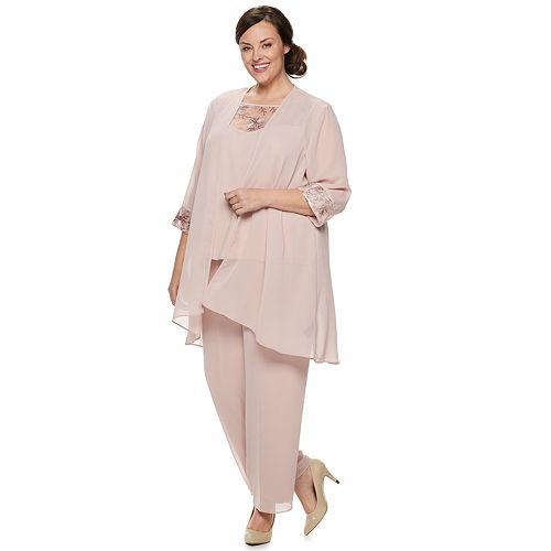 9bb7a758ad2 Plus Size Le Bos 3-Piece Pant Suit