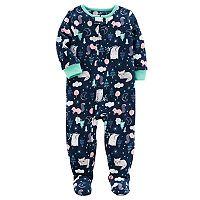 Toddler Girl Carter's Fleece Footed Pajamas