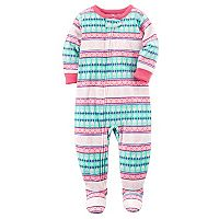 Toddler Girl Carter's Fleece Footed Pajamas