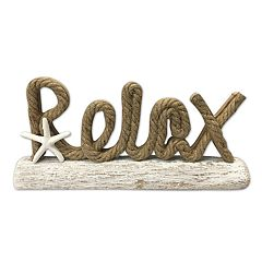 SONOMA Goods for Life™ 'Relax' Coastal Table Decor