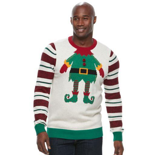 Big & Tall Method Elf Ugly Christmas Sweater
