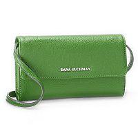 Dana Buchman Cateline Pebbled Crossbody Wallet