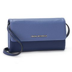 Dana Buchman Cateline Pebbled Crossbody Wallet