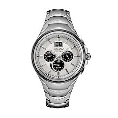 Seiko Men's Coutura Stainless Steel Solar Chronograph Watch - SSC627